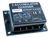 2 Way Split Charge Relay Charging Module - 6, 12 & 24 Volts