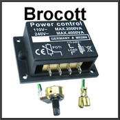 Motor / Speed Controller / Dimmer 240Vac / 110Vac, 25 Amp