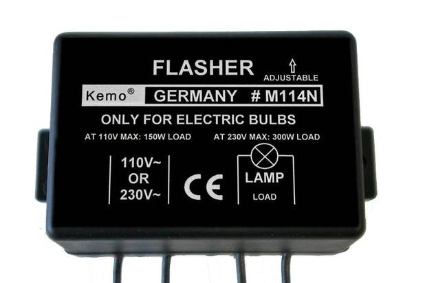 Slow Rate Flasher Sweller For Lamps 230 110 Brocott Uk