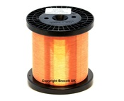 0.125mm, 36 AWG Enamelled Copper Magnet Wire - Solderable (250g)