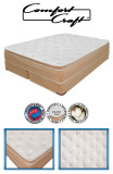 Comfort Craft 4500 Convert a Bed Airbed configuration. Can convert to a waterbed, memory foam mattress, latex or spring bed!