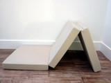 Tri-Fold mattress | Z Fold Memory Foam Mattress | 3 way folding bed in memory foam