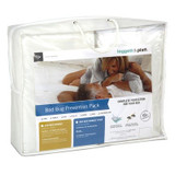 Bed Bug Prevention Pack Premium Bundle Plus|Leggett & Platt Home Textiles, Bed Bug Prevention Pack, Twin, Mattress Protector: Top Surface, Sides And Back Panel- 100% Polyester, Backing- 100% Polyurethane; Box Spring: 100% Polypropylene; Pillow Protectors: Top Surface, Bottom Surface And Skirting – 100% Polyester Knit Fabric Laminated With 100% Polyurethane, 10 Year Limited Warranty