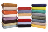 Home Source International Microcotton Luxury Towels SHOWER TOWEL: 30 in X60 in|home source international, luxury towels, microcotton, shower towel