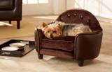 Enchanted Home Pet Ultra Plush Headboard Pet Bed|pet supplies, pet beds, enchanted home pet beds, headboards