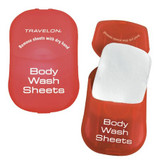 Travelon Body Wash Toiletry Sheets, 50-Count|travelon, body wash sheets, toiletry sheets, biodegradable