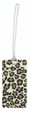 Belle Hop Leopard Fashion Luggage Tag by LCI Brands|lci brands, lewis n. clark, luggage tag, fashion luggage tag, leopard