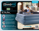 Boyd BeautyRest Skyrise Pillow Top Express Bed|boyd specialty sleep, beauty rest, air bed, pillowtop, skyrise, express bed, twin, Double, queen