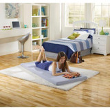 Boyd Beauty Sleep Twin Siesta Roll Up Memory Foam Bed|boyd specialty sleep, beautysleep, siesta, roll up, memory foam, twin
