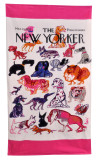 Home Source International Conde Nast The New Yorker Dogs Beach Towel|home source international, towels, conde nast, beach towels, new yorker, dogs