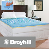 Broyhill Sensura Gel Enhanced 3 inch Memory Foam Mattress Topper|Broyhill, Broyhill Mattress, Mattress Topper, Gel memory foam topper, Memory Foam topper