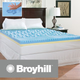 Broyhill Sensura Gel Enhanced 4 inch Memory Foam Mattress Topper|Broyhill, Broyhill Mattress, Mattress Topper, Gel memory foam topper, Memory Foam topper