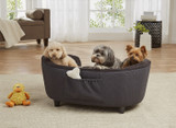 Enchanted Home Pet Hudson Sofa|enchanted home pet beds, pet beds, snuggle beds, pet sofa, ultra plush, hudson sofa