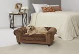 Enchanted Home Pet Melbourne Tufted Sofa|enchanted home pet beds, pet beds, snuggle beds, pet sofa, ultra plush, melbourne tufted sofa