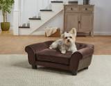 Enchanted Home Pet Cleo Ultra Plush Sofa|enchanted home pet beds, pet beds, snuggle beds, pet sofa, ultra plush, Cleo Ultra Plush Sofa