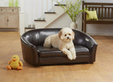 Enchanted Home Pet Dorchester Storage Sofa|enchanted home pet beds, pet beds, snuggle beds, pet sofa, ultra plush, Dorchester Storage Sofa