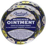 2-pack Medicated Rawleigh Natural Ointment Chest Rub, 5 Oz. Tins (Pack of 2)|  chest rub, country remedy, natural vapor rub, jr watkins, vicks rub, rawleigh