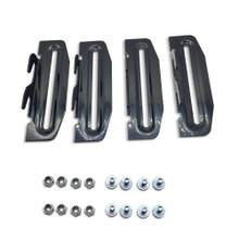 Metal Bed Frame 35 Hook Plate Conversion Bracket Adapter Kit For Bolt On