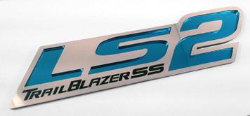 ZR1 Style LS2 Badge