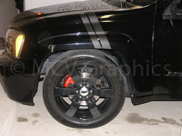 05-09 Trailblazer SS Fender Stripes