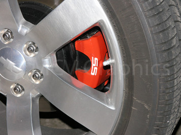 05-09 Trailblazer SS Rear Brake Caliper Decals