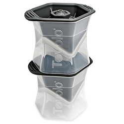 TOVOLO COLOSSAL CUBE ICE MOLD - SET OF 2