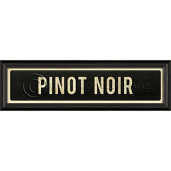 STREET SIGN BLACK - PINOT NOIR