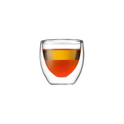 BODUM PAVINA DOUBLE WALL EXTRA SMALL GLASS - SET OF 2