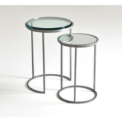 CAROLINA NESTING TABLE (SET OF 2) - STANDARD METAL