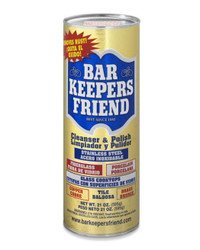 BARKEEPER'S FRIEND CLEANER AND POLISH - 12 oz