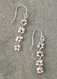 Linear Earring in Silver