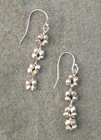 Linear Earring in Silver