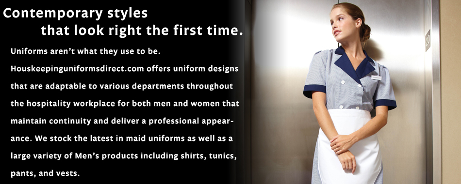 Housekeeping Uniforms Maid Cleaning