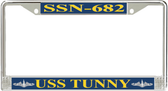 USS Tunny SSN-682 License Plate Frame