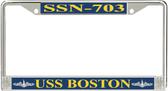 USS Boston SSN-703 License Plate Frame