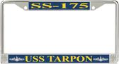 USS Tarpon SS-175 License Plate Frame