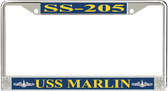 USS Marlin SS-205 License Plate Frame