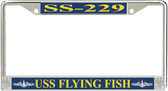 USS Flying Fish SS-229 License Plate Frame