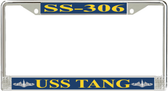 USS Tang SS-306 License Plate Frame