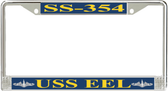 USS Eel SS-354 License Plate Frame
