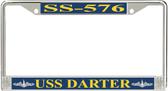 USS Darter SS-576 License Plate Frame