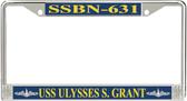 USS Ulysses S. Grant SSBN-631 License Plate Frame