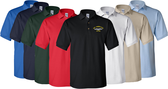 Custom Embroidered Golf Shirt with Submarine Name and Hull Number