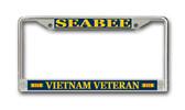 U.S. Seabee Vietnam Veteran License Plate Frame