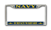 U.S. Navy Surface Warfare Officer License Plate Frame