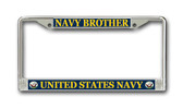 U.S. Navy Brother License Plate Frame