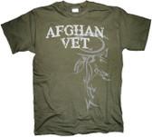 Afghanistan Veteran Horizontal Tribal T Shirt