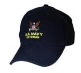 U.S. Navy Veteran Direct Embroidered Cap
