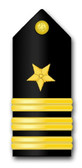 Navy Commander Vinyl Transfer Decal