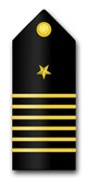 Navy Midshipman-Captain Vinyl Transfer Decal